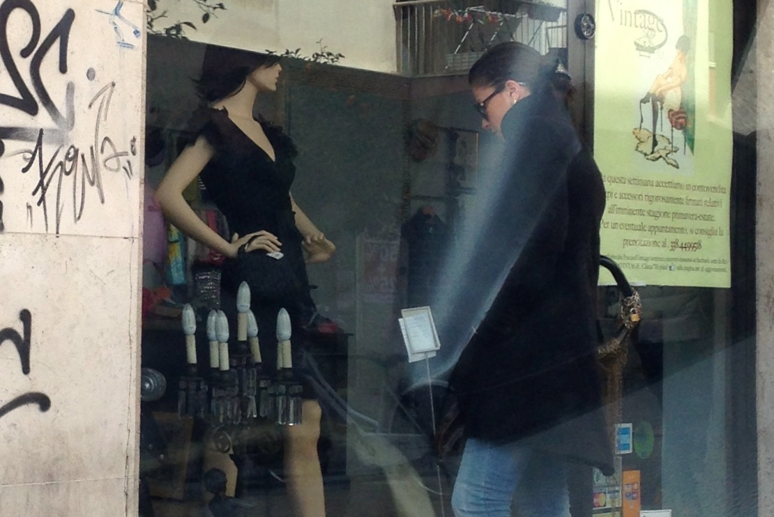Who is the mannequin?