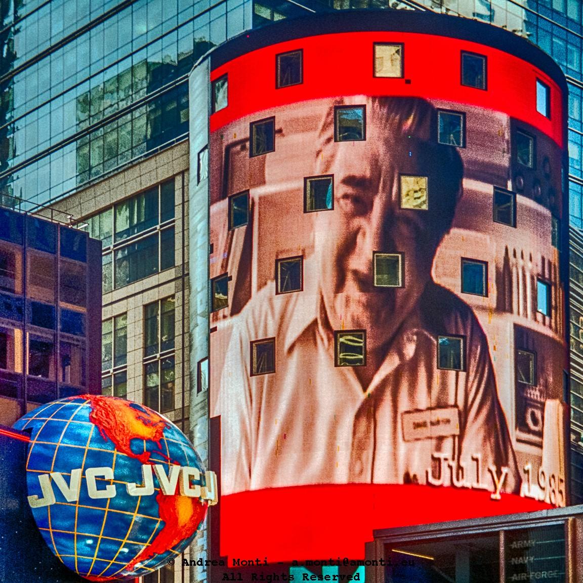 A Portrait on the Nasdaq Building