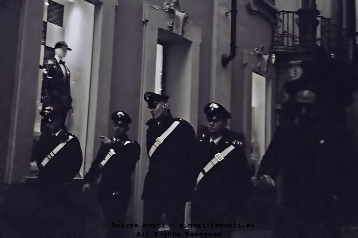 Carabinieri in Milan