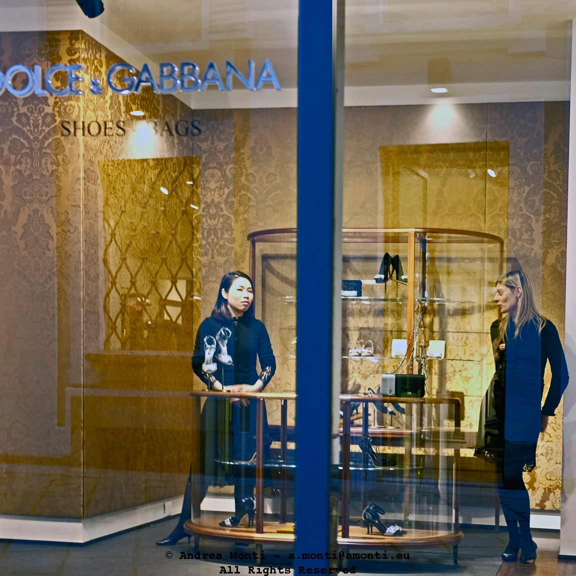 A Fashion Shop in Milan