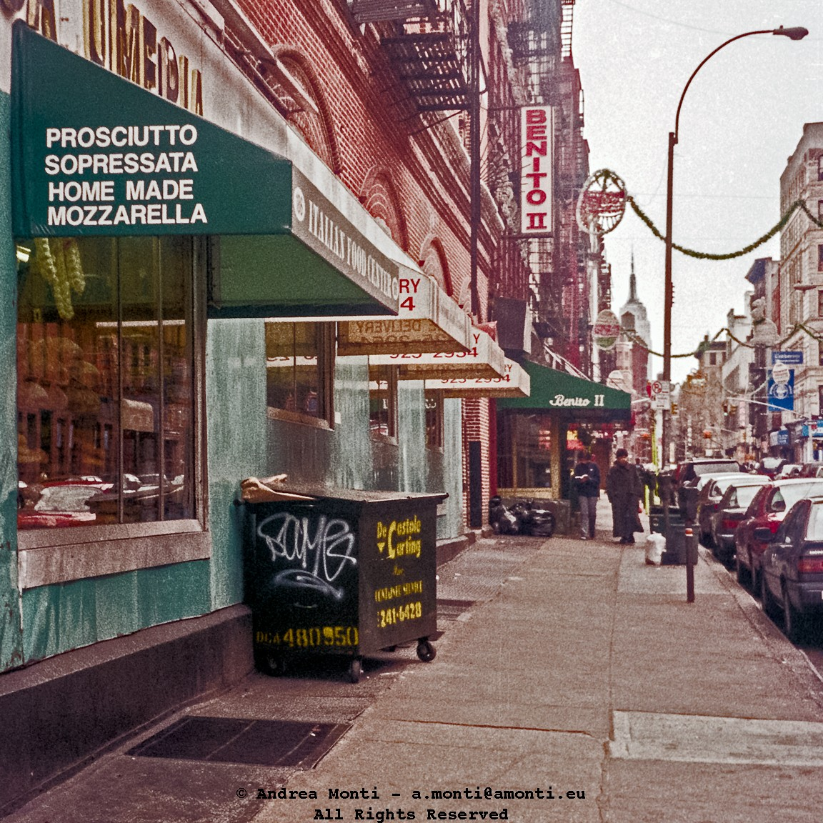 Mulberry Street, When Benito II Was Still There…