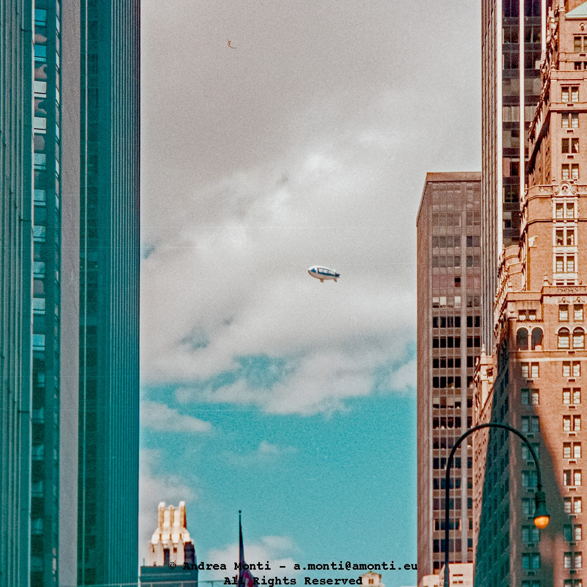 A Bubble In The New York Sky