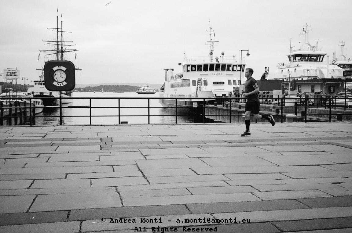 Running On The (Oslo's) Docks