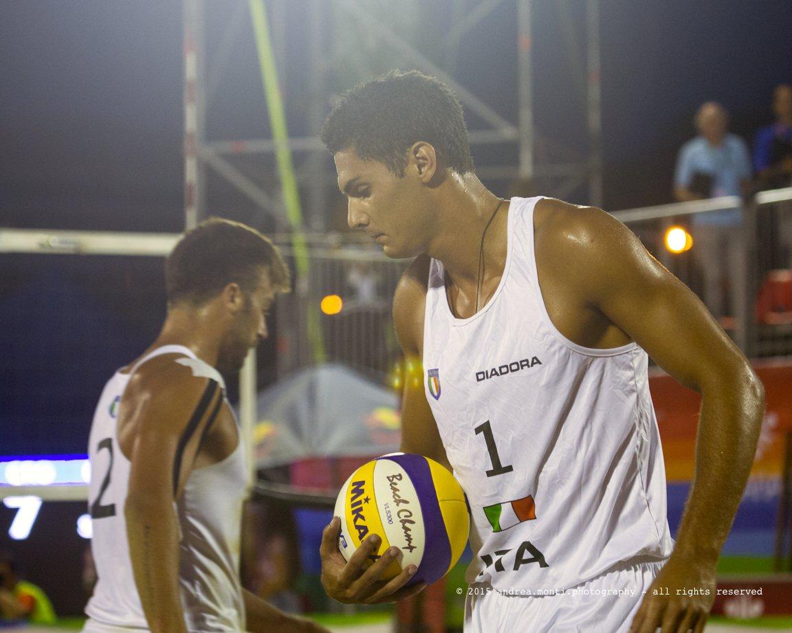 @ Mediterranean Beach Games 2015 – Italian Beach Volley Team – Marco Caminati, Enzo Rossi