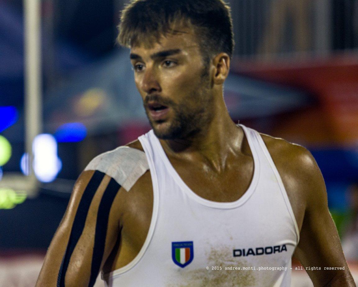 @ Mediterranean Beach Games 2015 – Italian Beach Volley Team – Marco Caminati (and a primer on sport photography, part 6)