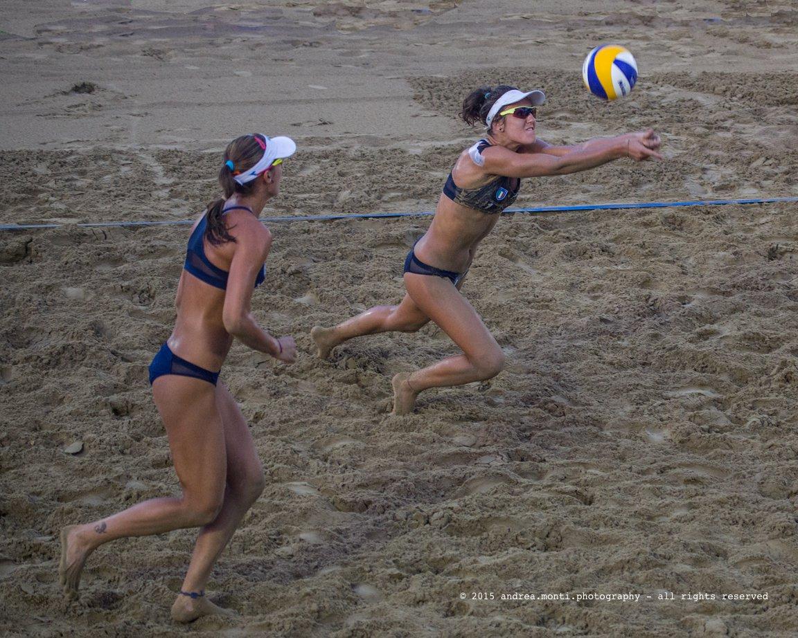 @ Mediterranean Beach Games 2015 – Italian Beach Volley Female Team – Laura Giombini, Giulia Toti