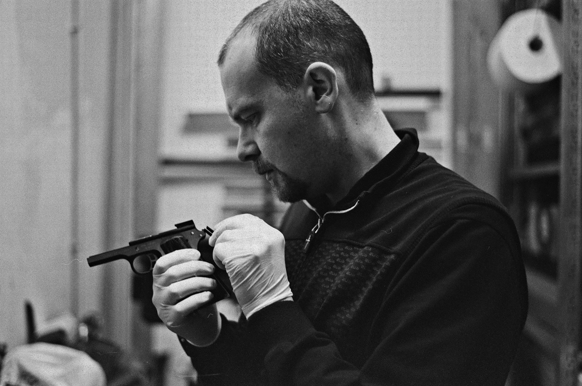 Portrait of a Gunsmith