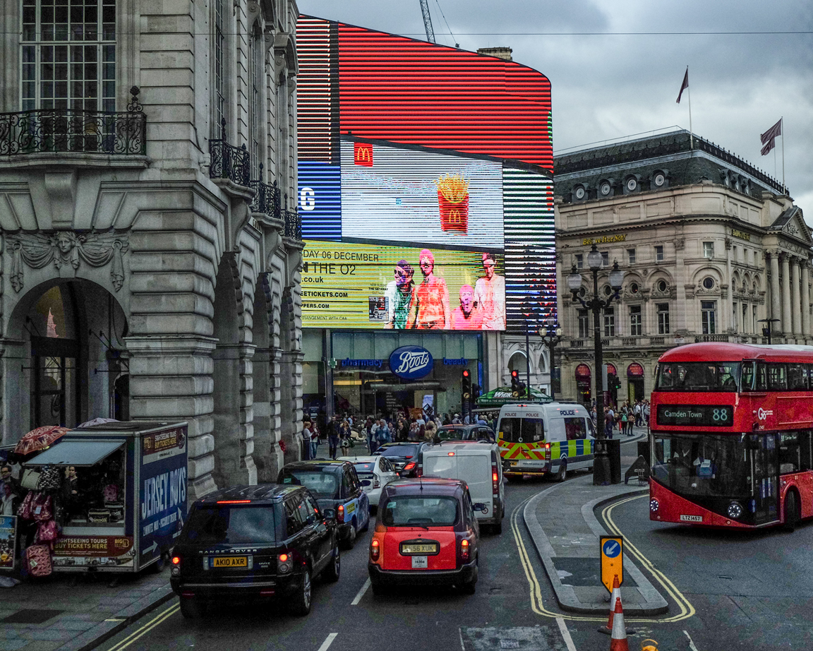 Just Another Piccadilly Circus' View