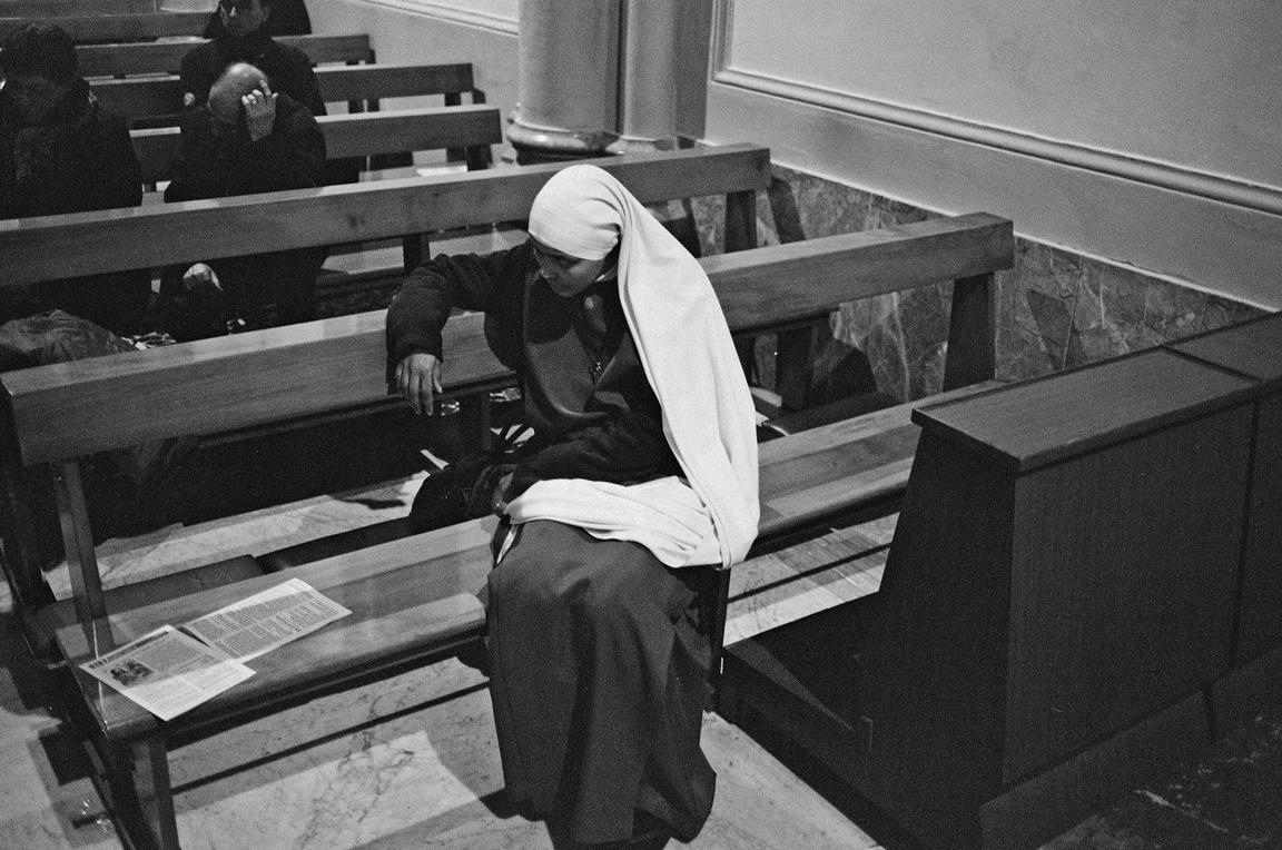 A Pensive Nun