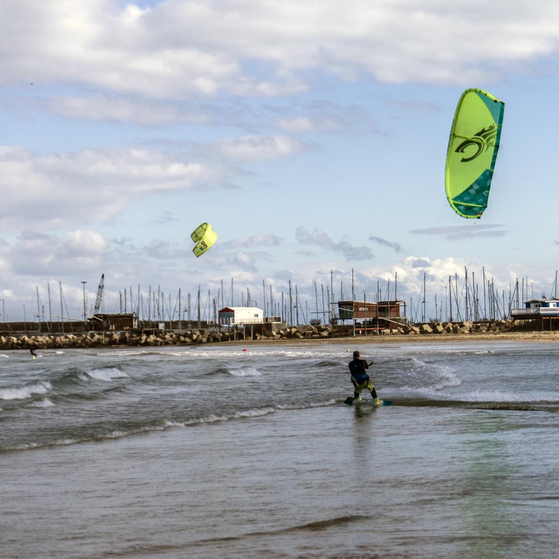 Kite Surfing, Again