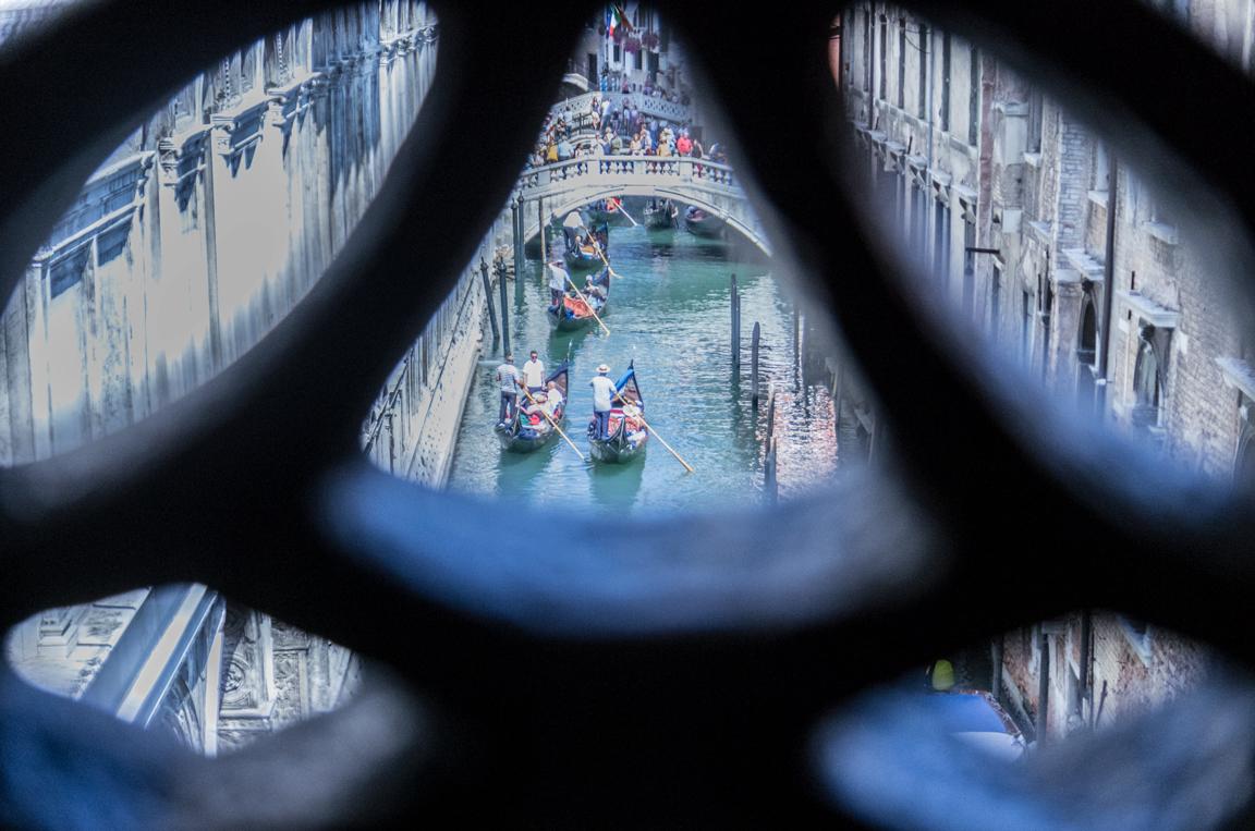 The Prisoner's View from the Sospiri's Bridge
