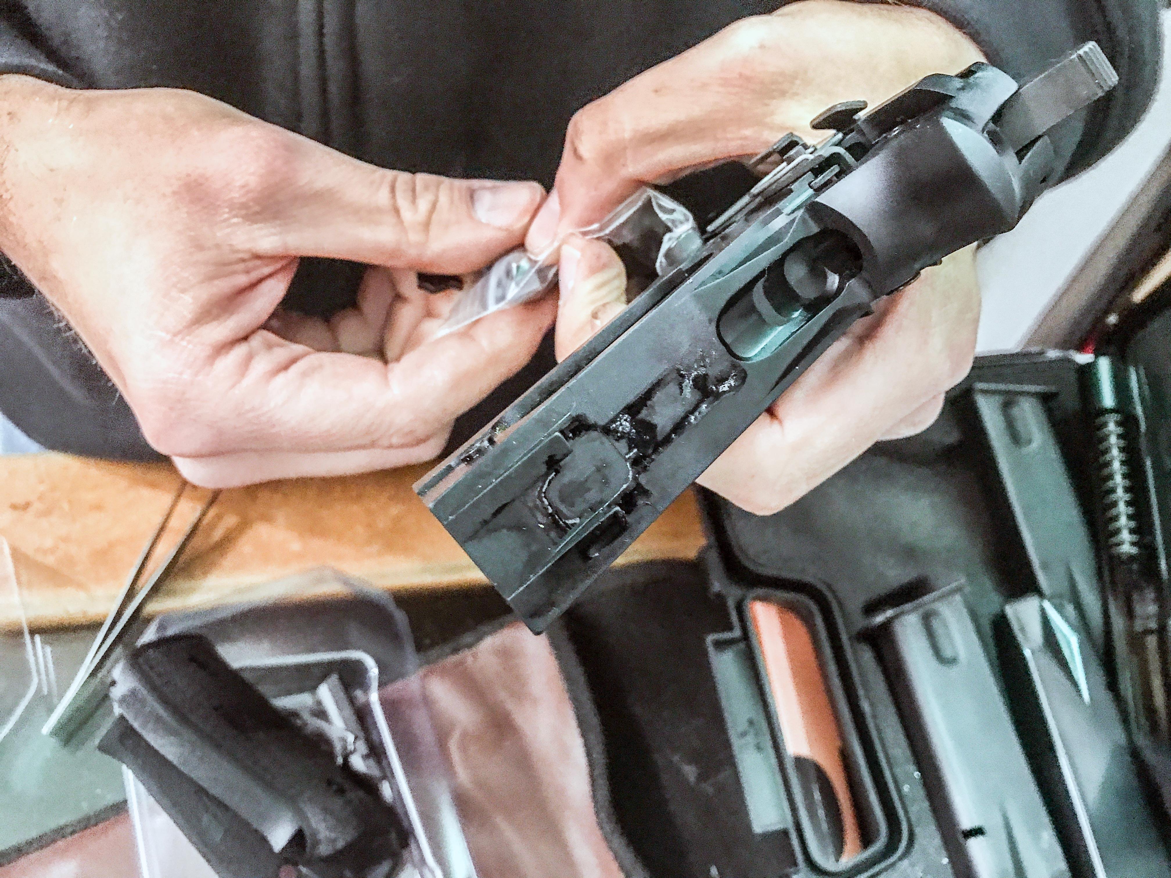 Servicing a Sig Sauer P226