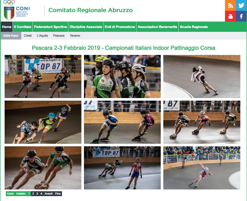 Italian National Skating Championship 2019