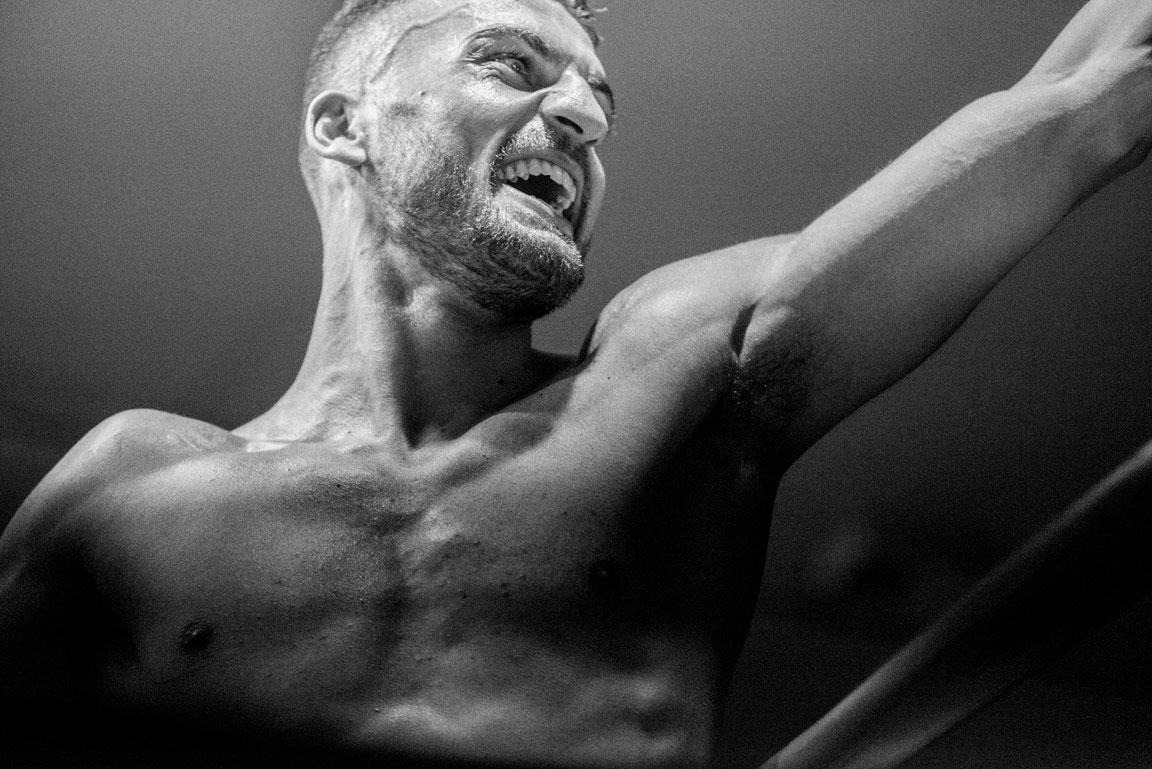 Portrait of a Professional Boxing Fighter. Davide De Lellis