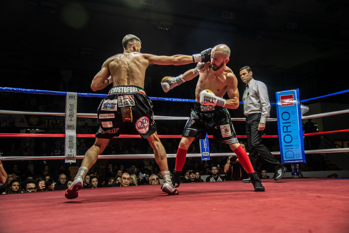 Emanuele Cavallucci. The New Italian Pro Boxing Welterweight Champion
