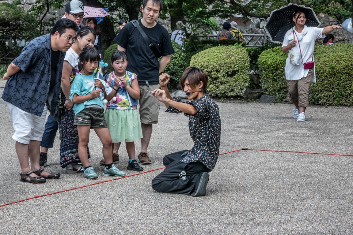 Street Magic@Nagoya Castle