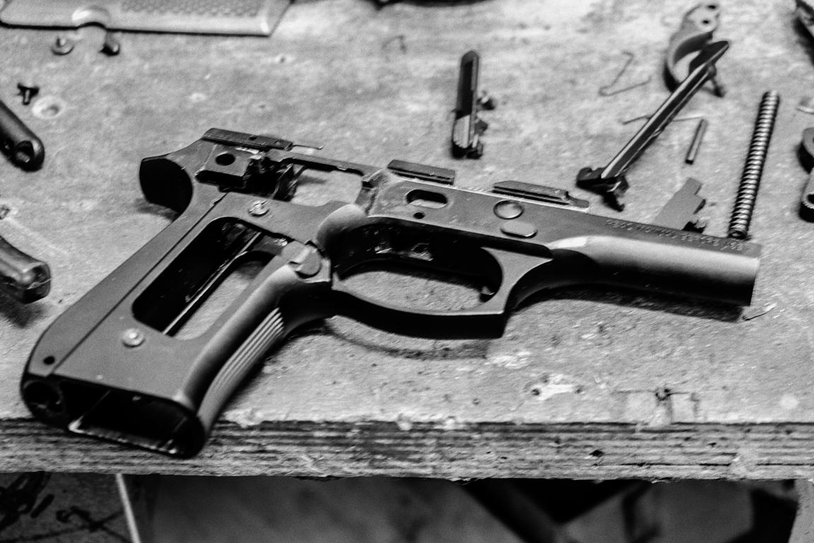 Servicing a Beretta 98FS