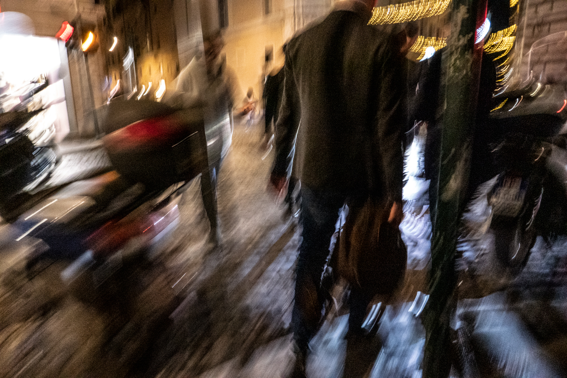 Photopanning in Rome