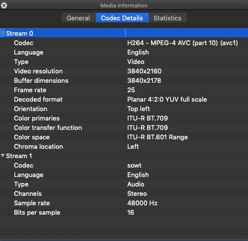 Fuji X-T2 records audio at 16bit/48Khz