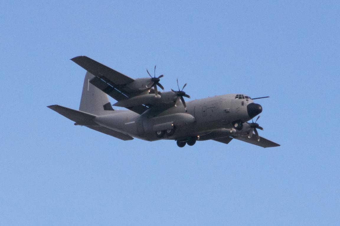 A Lockheed C-130 Hercules