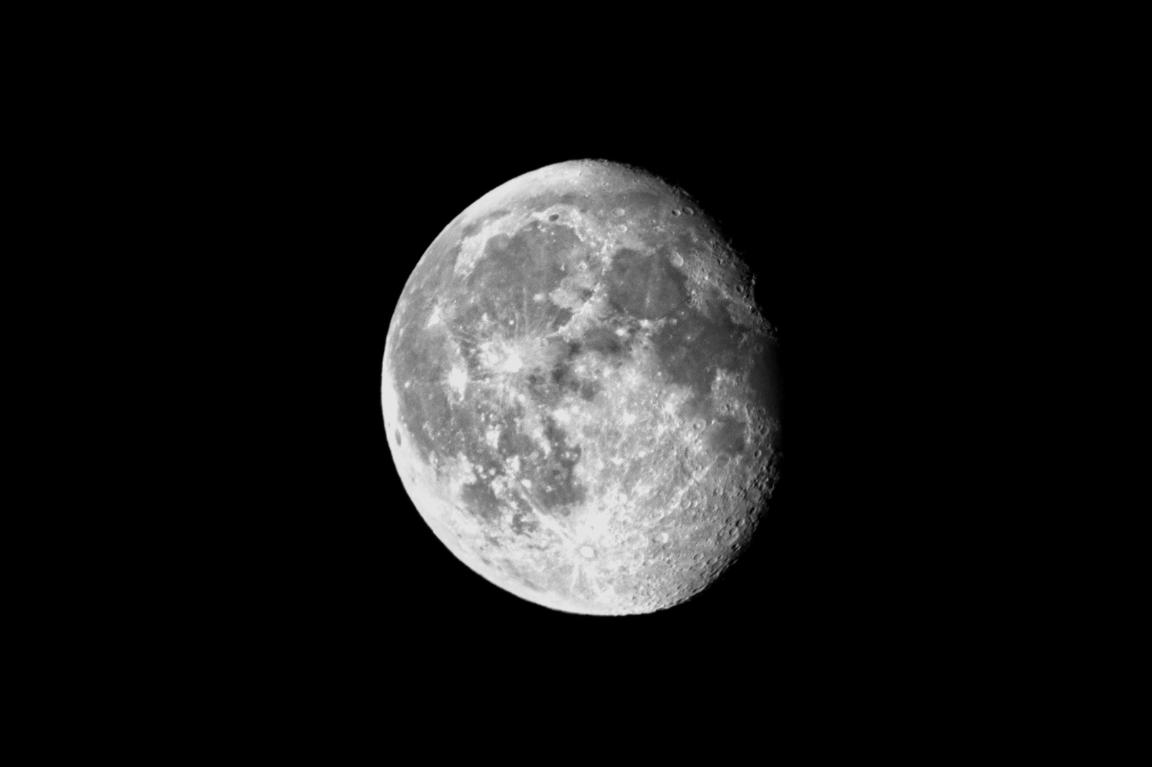 Moon, hand-held